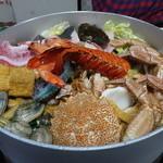 海老蔵 - 料理写真:☆海老蔵のお鍋は魚介満載です(≧▽≦)/~♡☆