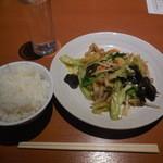 座135 - 豚肉と野菜炒め 350