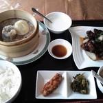 上海料理 蓮 - 鶏とジャガイモの炒めもの膳