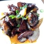 上海料理 蓮 - 鶏とジャガイモの炒めもの