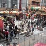 36519657 - 南京町広場を見下ろすロケーション