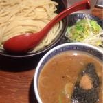 36519743 - つけ麺 大盛+ちょこっと野菜(780円)