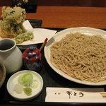 更科 斉とう - 料理写真:かき揚げ天もり