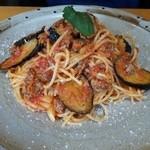 マシモ - なすとひき肉のスパゲティ
