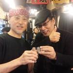 居酒屋くろ兵衛 - 料理写真:吉田 類さんと私