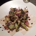 パパソロッテ - 季節野菜のフリット2015,4