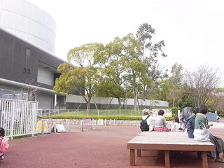 花とみどりの休憩所 - 国立民族学博物館が見える☆♪