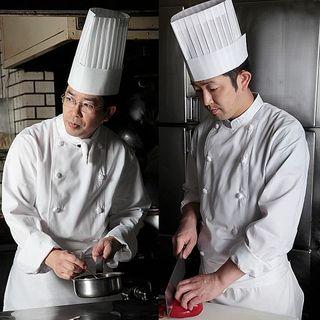 フランス料理、中国料理2人のスペシャリストの饗宴
