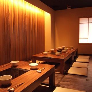 ◆【完全個室あり】落ち着きのあるお洒落な店内