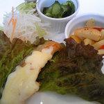 楽 - 鮭のチーズ焼き