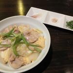 神戸豚と産直野菜バル CACHETTE - 百味親子丼