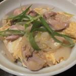 神戸豚と産直野菜バル CACHETTE - 親子丼