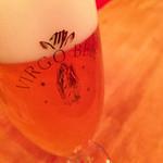 Bar LOST BOY - 墨田区生まれの地ビール ヴィルゴビール(白) 500yen