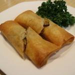 スーツァンレストラン 陳 - 春巻き