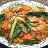 タイしょう油風味太麺焼きビーフン