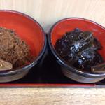 桂ちゃん - カツオ煮、昆布煮