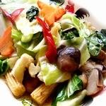 いろどり野菜の炒め
