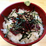 よってっ亭 - 料理写真:みなみまぐろサイコロ丼(ご飯大盛り)
