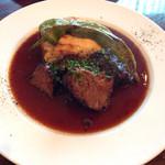 36568349 - 国産牛肉のカシス煮込み〜d(^_.^o)~
