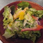 サンクスギビングデイ - ランチセットのサラダ