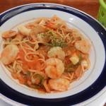 レストラン 三海 - シーフードスパゲティ(アップ)