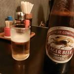 一休食堂 - ビール(キリンラガー)