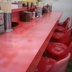 長浜一番 - テーブル席