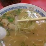 長浜一番 - 麺