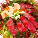チェルカトローヴァ - 料理写真:かずさ和牛と海の幸のステーキ丼(おらが丼)