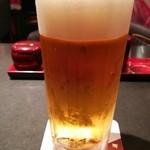 つきじ宮川本廛 - 生ビール