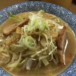 長州ラーメン万龍軒 - 野菜ラーメン