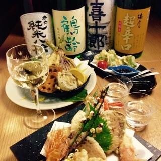 料理に合う季節の日本酒