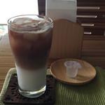 エスポアール - 料理写真:アイスカフェラテ