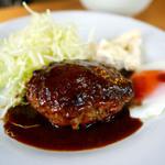 ウチョウテン - 黒毛和牛のハンバーグ ¥1,100