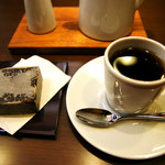カフェ ラストワルツ - コーヒーときんつば