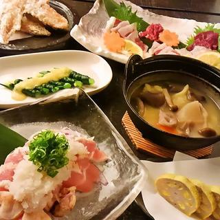 ふる里の味☆熊本郷土料理を堪能☆肉寿司も◎