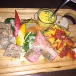 Okayama Table TERRA - 前菜6種盛り(#^.^#)