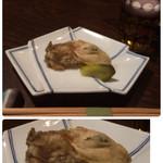 たまる - 突出しの牡蠣の南蛮
