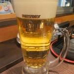 虹むら - 生ビール