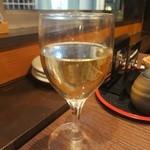 虹むら - グラスワイン白