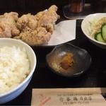 壱番鶏 - 定番のから揚げ定食