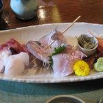 3658293 - 地魚の刺身盛り