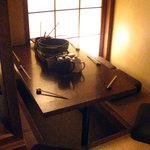 近江屋 - 半個室 掘り炬燵の席