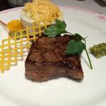 36580416 - 牛肉ロース鉄板焼