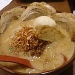 麺場 田所商店 - 味噌ラーメンチャーシュートッピング