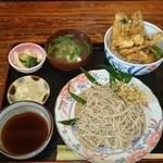 36581007 - 2015/04/03 11:30 ニシン天丼(特注:¥1,100)+せいろ¥850