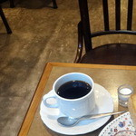 カネコ - モーニングセット490円のブレンドコーヒー