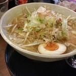 高知ジェントル麺喰楽部 - もやしラーメン塩