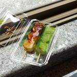 つつみ屋 - 料理写真:しょうゆ(130円)とずんだ(130円)