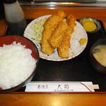 大的食堂 - 料理写真:いかフライ定食 750円